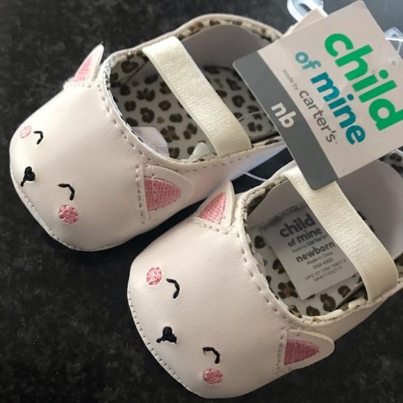 Carters Newborn Baby Girl Shoes | Poshmark